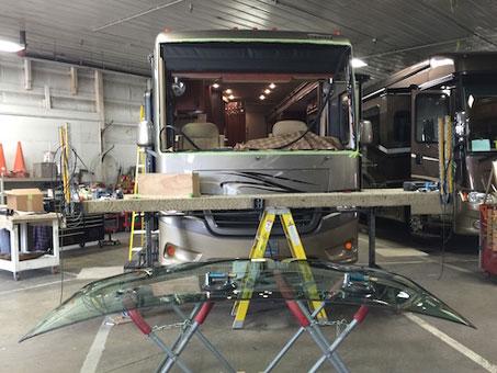 heavy equipment windshield repair indiana